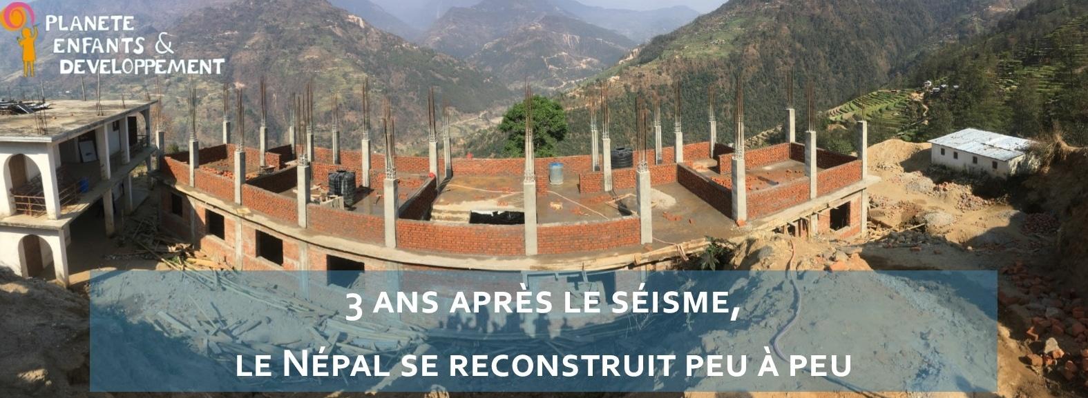 nepal 3 ans apres