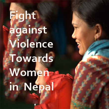 Fight against Violence towards Women in Nepal