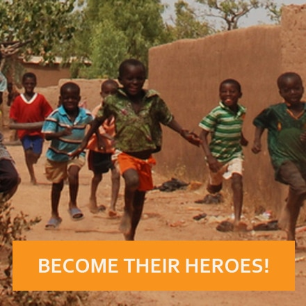 HEROES RUN IS COMING BACK: LET'S GET ON THE MOVE FOR BURKINA FASO!