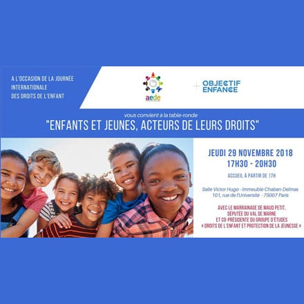 Join us at our roundtable on children's rights