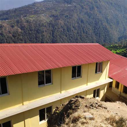 12 écoles «en dur» soutenues par l'État cambodgien