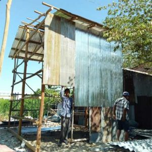 Rénovation en cours sur notre programme à Phnom Penh, Cambodge