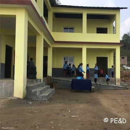 2 Reconstructed and Inaugurated Schools in Nepal