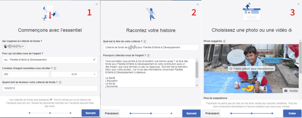 Comment collecter des fonds sur Facebook