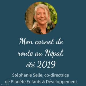 Carnet de route de Stéphanie au Népal