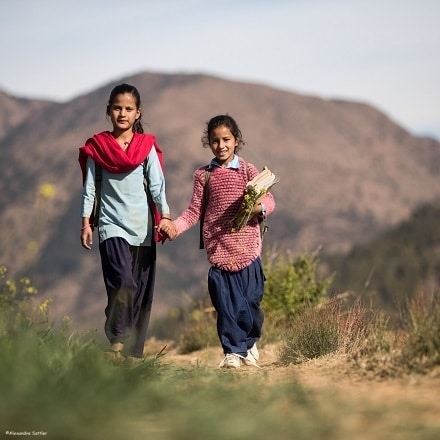 In Nepal, we wonder over the weight of schoolbags