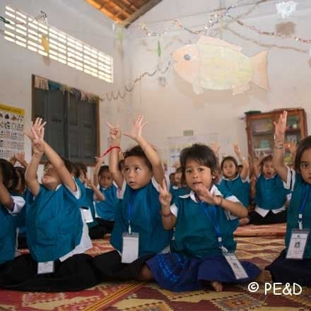 A new giant step for quality kindergarten schools in Cambodia