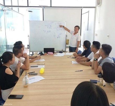 Training Session in Vietnam
