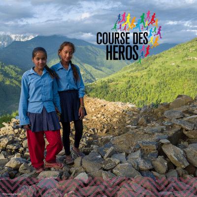 Courons pour les filles au Népal