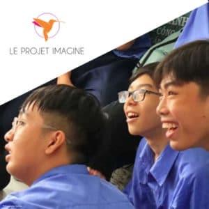 Jeunes en formation au Vietnam