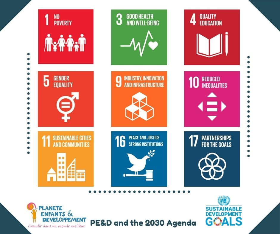 Planète Enfants & Développement and the 2030 Agenda