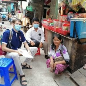 Cambodia : on-going support to under-privileged families and renovation of dwellings