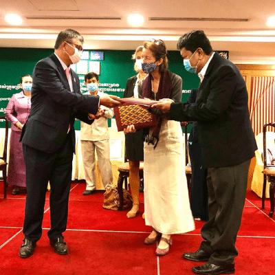100 écoles maternelles au Cambodge : retour sur la cérémonie de lancement