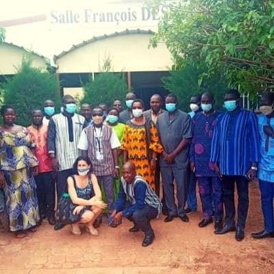 Civil registrars trained in Burkina Faso