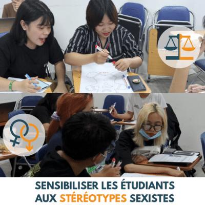 Vietnam: sensibiliser les étudiants aux stéréotypes sexistes
