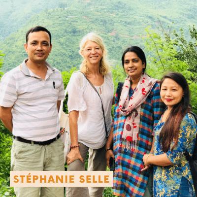Rencontre avec Stéphanie Selle, Ex directrice Népal & Vietnam et future directrice Cambodge.