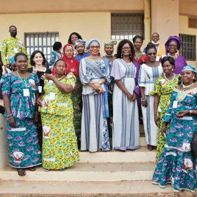 PE&D invitée par la Ministre à célébrer les femmes au Burkina Faso