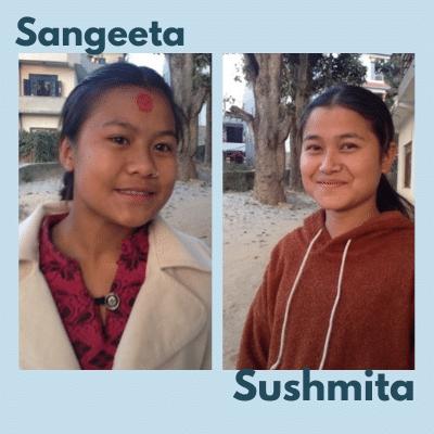 Le foyer de la seconde chance pour Sangeeta et Sushmita