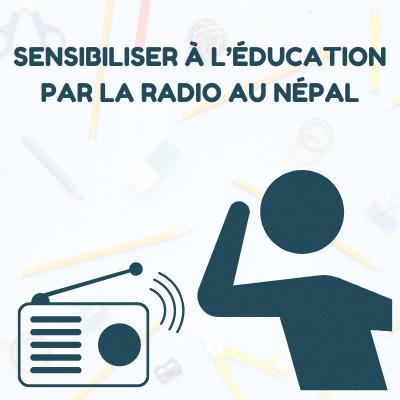 Raising awareness of education through radio in Nepal