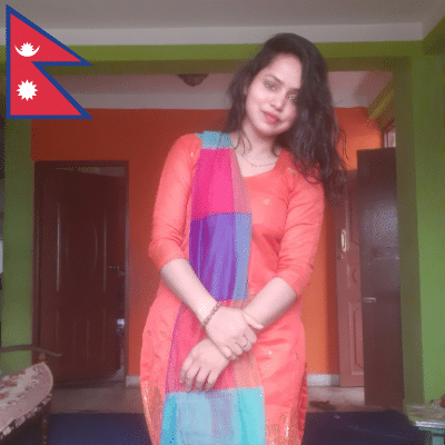 Portrait of Sushila Nepal, Social Worker