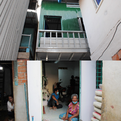 Complete renovations to go further in the slums of Phnom Penh