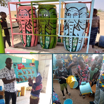 """What is the outcome of the """"Mémoire d'Éléphant"""" project in Burkina Faso?"""