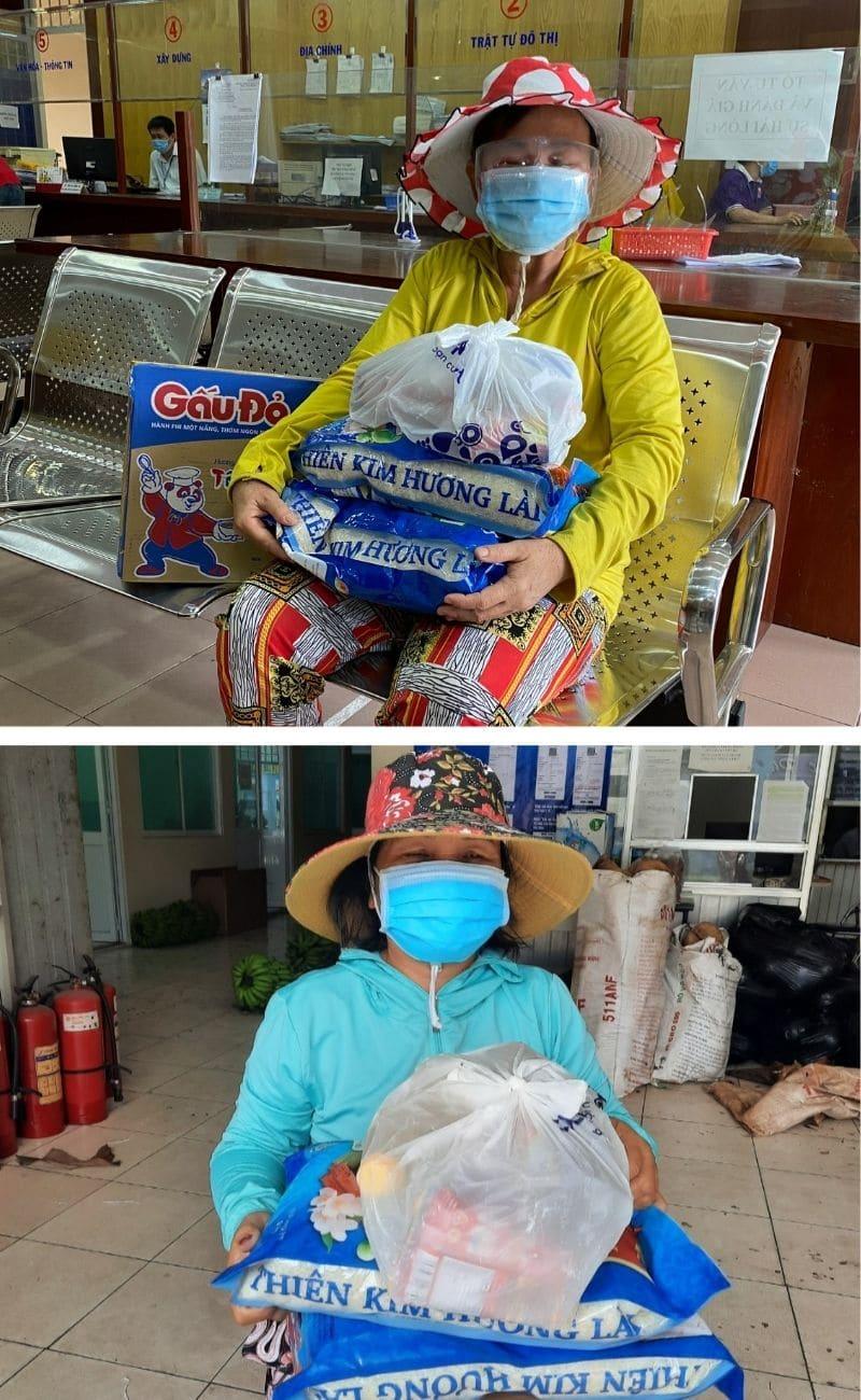 Femmes bénéficiaires d'aide suite au Covid au Vietnam