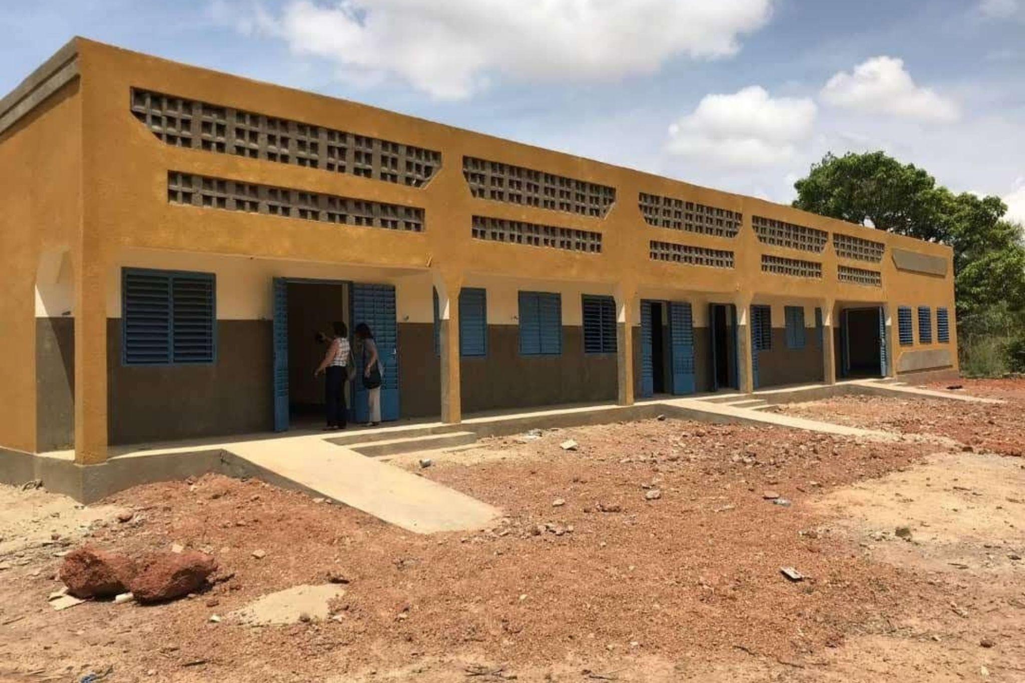 Collège contre le décrochage scolaire au Burkina Faso