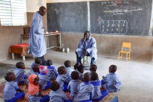 Early Childhood Educator in the classroom in Burkina Faso