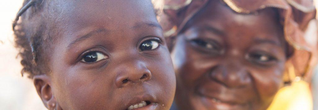 Baby in Burkina Faso