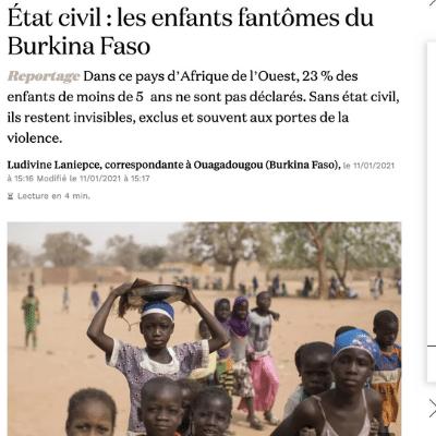 article Planète Enfants & Développement