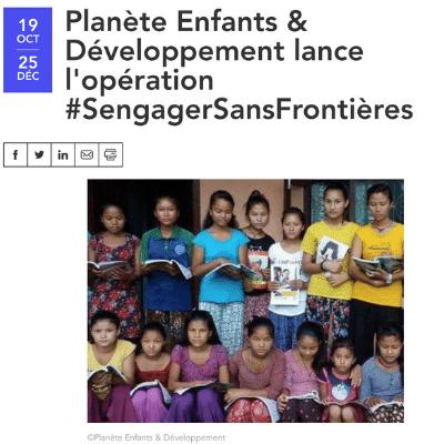 article 3 planète enfants & développement