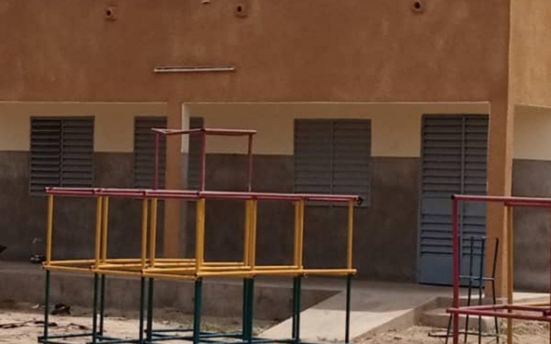Un CEEP réhabilité par Planète Enfants & Développement à Fada au Burkina Faso
